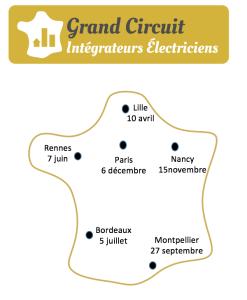 Artemise au Grand Circuit des Électriciens